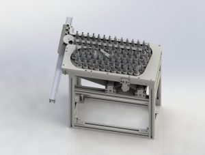 A Small Buffer Table Conveyor